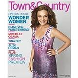 Town & Country Magazine (February, 2009) Diane Von Furstenberg