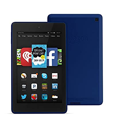 "Fire HD 6, 6"" HD Display, Wi-Fi, 8 GB - Includes Special Offers, Cobalt"