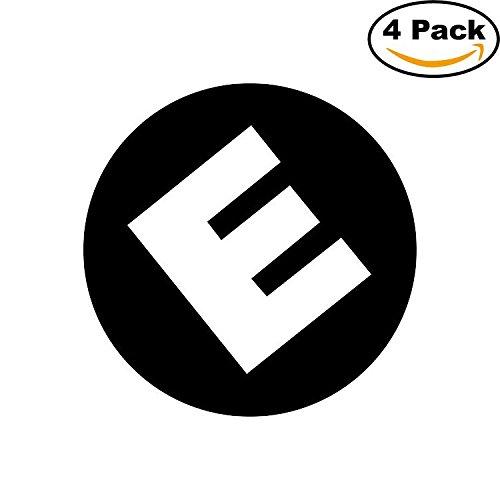[Mr Robot Logo Evil Corp Decal Logo Vinyl Sticker 4 Stickers] (Robot Sticker)
