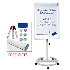 Compared with boards from other brands, the Maxtek mobile white board uses a higher grade of steel, making it a stronger product and giving Maxtek white boards a more stable reinforced base. The Maxtek white board can be used in classroom set...