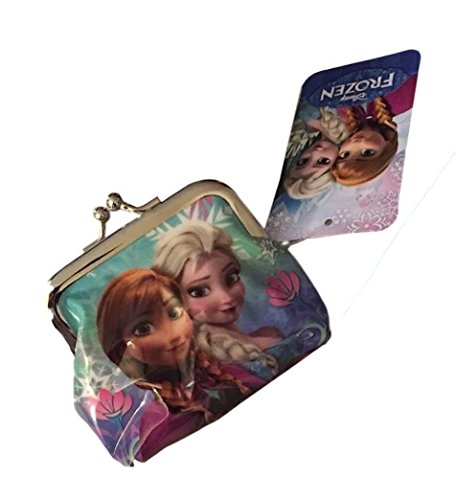 Disney Frozen Anna and Elsa Sisters Forever Small Snap Coin Purse ()