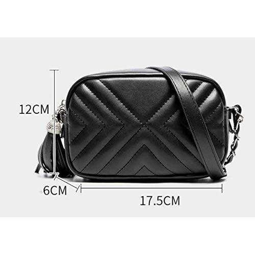 Bag Bag Vorm The Messenger Chain Rhombic Groen Persoonlijkheid Casual Damesmode q8TPtw
