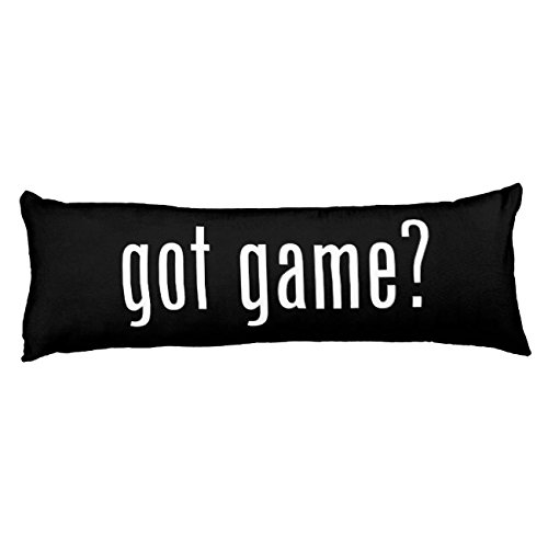 UOOPOO got game? Polyester Body Pillow Cover Square 20 x 54 Inches for Bed Print on Twin Sides