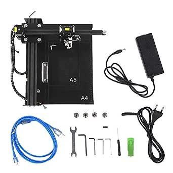 Máquina de escritura, BACHIN TA-4, enrutador CNC, kit de robot de dibujo, escritor inteligente automático para notas/mesa 100-240V(Enchufe de la UE): Amazon.es: Industria, empresas y ciencia