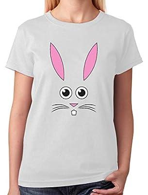 Easter Bunny Face - Best Gift for Easter Funny Girls/Women T-Shirt