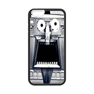 [Do Strange Smiling Face] Saying the Wroung Thing at the Wroung Time Cases for IPhone 6, IPhone 6 Case Printed for Girls Protective {Black}