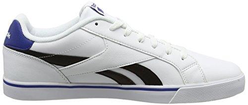 collegiale nero Royal Reebok sportive da bianco Royal Complete Scarpe Bianche uomo 2ll wArvFw4q