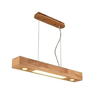 GYP Led Bar Kronleuchter, Creative Woody Büro Kronleuchter Restaurant Bar  Wohnzimmer Esstisch Lampen 80