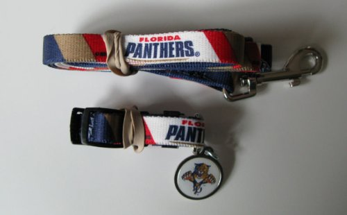 Hunter Florida Panthers Pet Combo (Includes Collar, Lead, ID Tag), X-Small