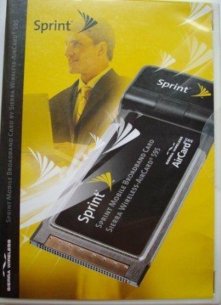 Sierra wireless aircard 550 sprint pcs vision connection pc card.