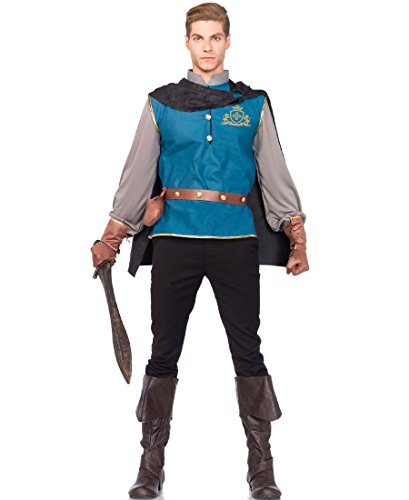 [Leg Avenue 85477 Storybook Prince Halloween Costume - Multicolor - Medium/Large] (Storybook Prince Adult Mens Costumes)