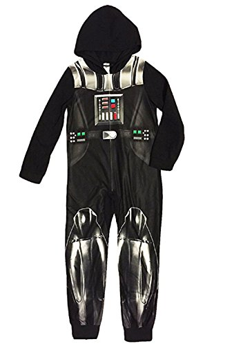 Darth Hooded Sleeper Fleece Pajama product image