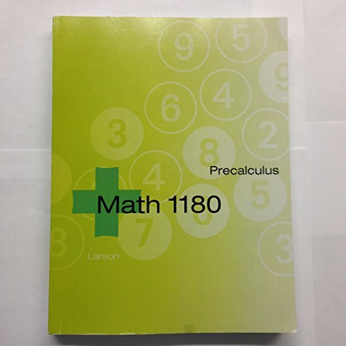 Precalculus [MATH 1180]