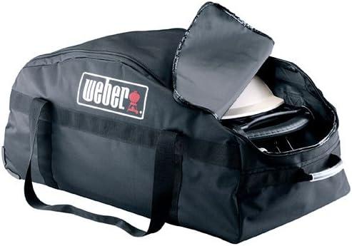 Amazon Com Weber Q 6509 Rolling Duffel Bag Grill Accessories Garden Outdoor