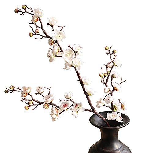 - FightingFly 4Pcs Artificial Cherry Blossom Flowers, 37