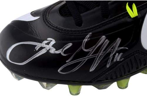 Jared Goff Los Angeles Rams Autographed Player Issued Black Nike Cleats from the 2017 18 NFL Season Size 12.5 Fanatics Authentic Certified