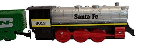 EZ-Tec Santa Fe Special 29 Piece Train Set (North Pole Express Christmas Train Set Eztec)