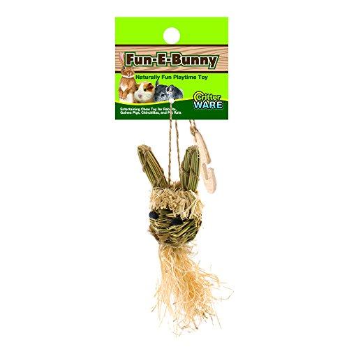 Ware Manufacturing Natural Fun-E-Bunny Small Pet Chew Toy