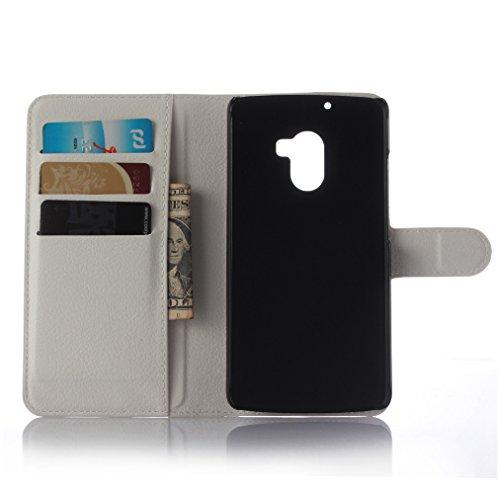 Funda Lenovo A7010,Manyip Caja del teléfono del cuero,Protector de Pantalla de Slim Case Estilo Billetera con Ranuras para Tarjetas, Soporte Plegable, Cierre Magnético E