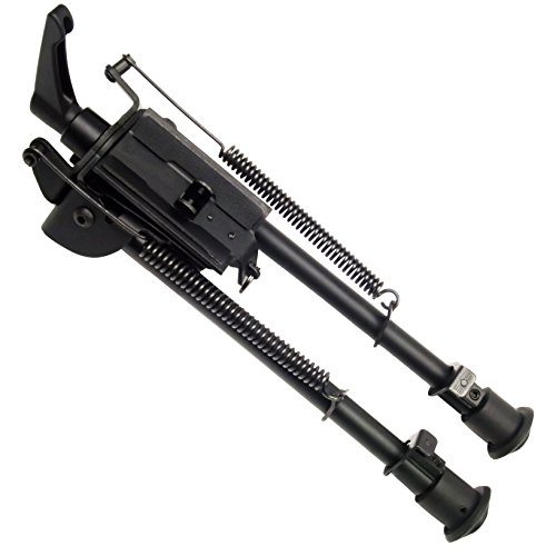 9-13 inch foldable notched legs Solid base bipod Pivoting with Pod-Lock for swivel Harris style Bipod