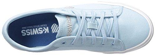 K-Swiss Baxter, Scarpe da Ginnastica Uomo Dream Blue/Ash/White
