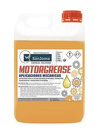 MOTORGREASE Desengrasante de motor 1 caja (2 garrafas X 5 litros ...