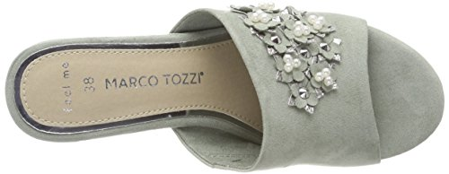 Green Vert Tozzi Mules Marco 27218 Sage Femme YwBqpFxC