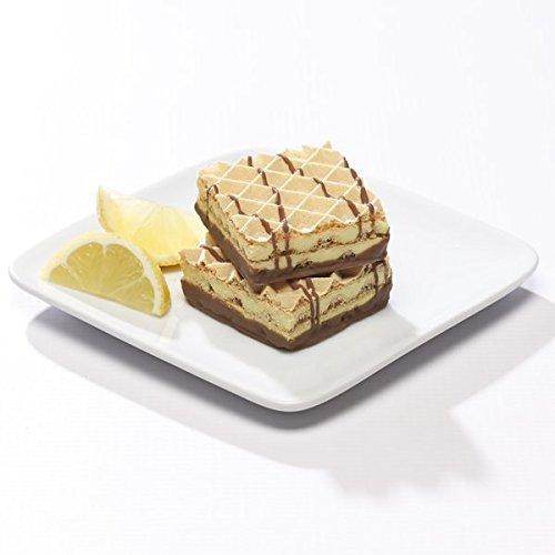 Lemon Wafers - High Protein/Keto/Weight Loss - 5ct. (Lemon) - Lemon Raspberry Dessert
