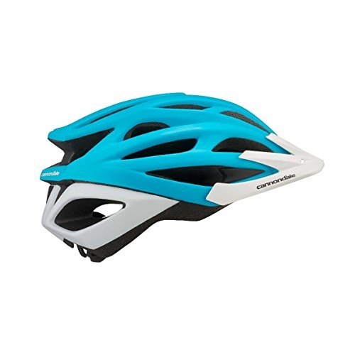 Cannondale Radius Helmet Small/Medium Teal/White Review