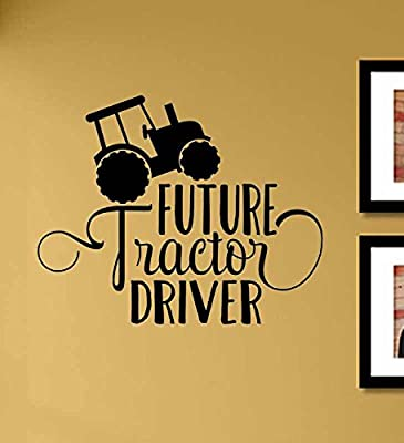 Future tractor driver Vinyl Wall Art Decal Sticker