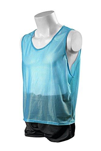 Kwik Goal Youth Deluxe Scrimmage Vest, Light Blue