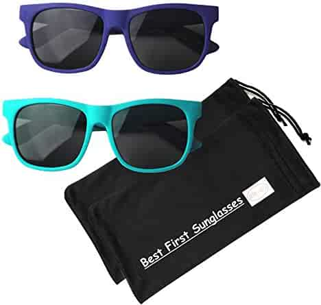 Vintage– Best First Sunglasses for Infant, Baby, Toddler, and Kids! 100% UV Protection. Many Colors and Sizes!