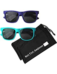 0dde18cd6020 Vintage– Best First Sunglasses for Infant, Baby, Toddler, and Kids. 100