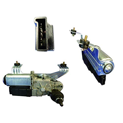 (New Rear Wiper Motor W/Pulse Board Module For 1999-2005 Pontiac Montana Trans Sport 12362550, 12363350, 12494791, 15099936)