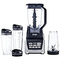 Nutri Ninja 1500W 72 Ounce Ninja Blender Duo with Auto-iQ and Cups - Factory Reconditioned