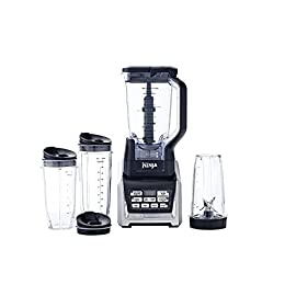 Nutri Ninja Ninja Blender Duo with Auto-iQ (BL642Z) 41 XL 72 oz. Total Crushing blender pulverizes ice to snow in seconds for creamy frozen drinks and smoothies (64 oz. Max Liquid Only Capacity) Nutri Ninja Pro Extractor Blades break down whole fruits, vegetables, ice and seeds for nutrient & vitamin extraction* Auto-iQ technology features timed, intelligent blending programs that do the work for you, no guesswork required