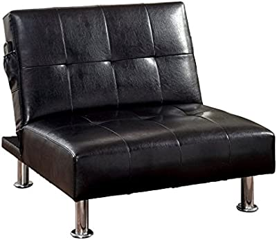 Amazon Com Dhp Chelsea Convertible Accent Chair With