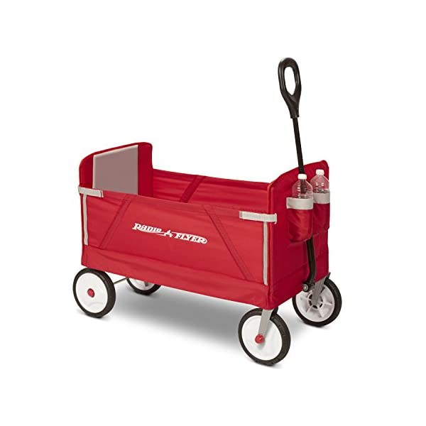 41XFsBoDI8L. SS600  - Radio Flyer Folding Wagon for kids and cargo