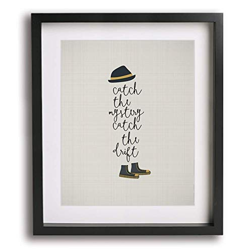 Tom Sawyer by Rush inspired song lyric wall art print gift ideas for him