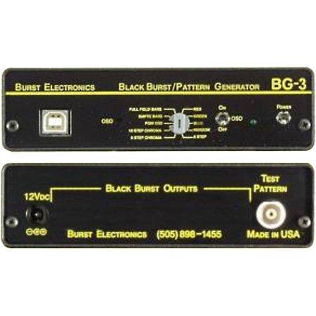 Pattern Generator w/Color OSD/ID NTSC/PAL- Balanced Audio - Generator Pattern Ntsc