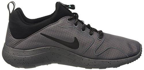 Nike Herren Kaishi 2.0 SE Laufschuhe Dunkelgrau / Schwarz / Grün Glow