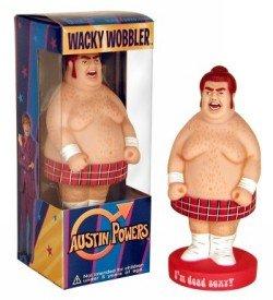 Funko Fat Bastard Wacky Wobbler Bobblehead Austin Powers