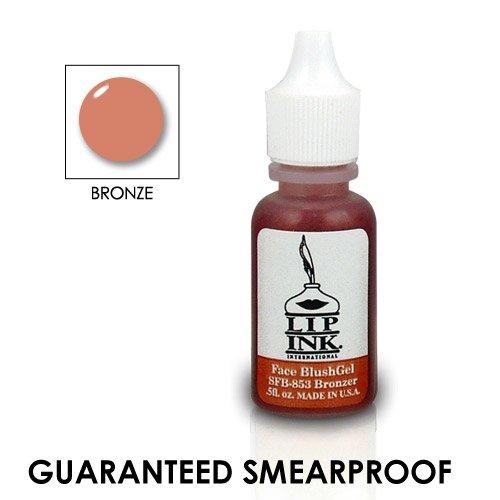 Bronze Organic Blush - LIP INK Organic Vegan Waterproof Face Blush Gel, Bronze