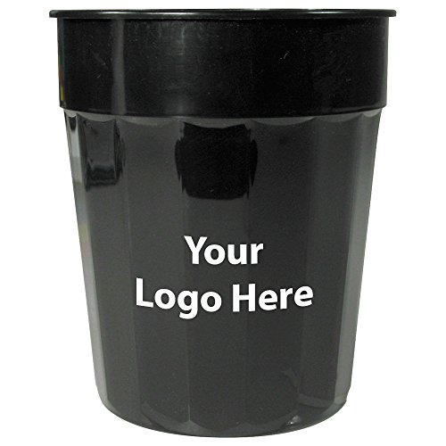 24 Oz. Fluted Stadium Cup - 250 Quantity - $0.75 - PROMOTIONAL PRODUCT / BULK / BRANDED with YOUR LOGO / - Promotional Products Drinkware