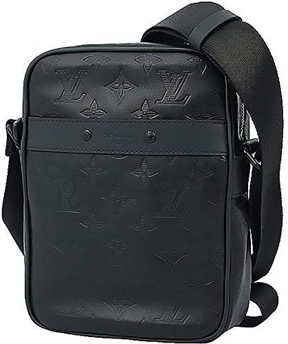 Amazon | [ルイヴィトン] ダヌーブPM モノグラムシャドウ 型押しカーフレザー M43681 ブラック メンズ レディース [並行輸入品] | ショルダーバッグ