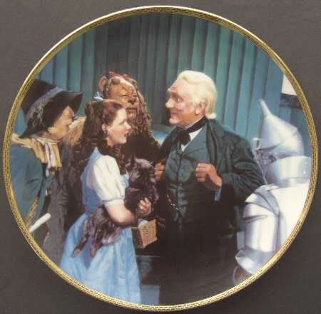Hamilton Collection Wizard (Wizard of Oz Hamilton Plate The Great and Powerful Oz 50th Anniversary)