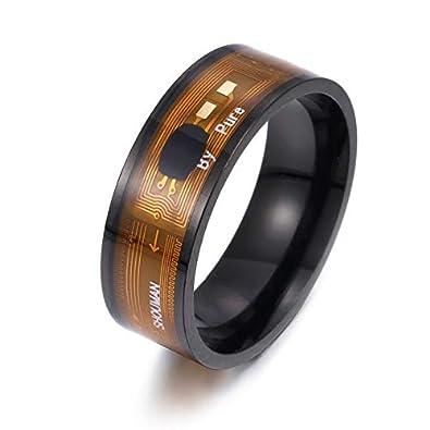 NFC wasserdichte digitale Smart Ring Android Magic Fingerringe Edelstahl