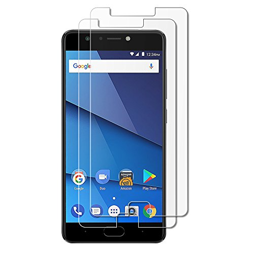 (Pack of 2) Gzerma for Blu Life One X3 Screen Protector, [High Definition Clear] [Case Friendly] [Easy to Install] Shockproof Front Protective Cover Film for Blu Life One X 3 L0150WW Smartphone
