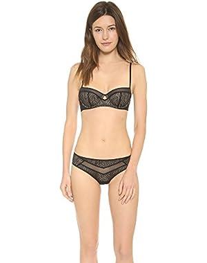 Calvin Klein Underwear Women's Calvin Klein Black Primal Balconette Bra