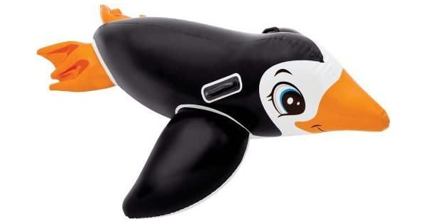 Amazon.com: Intex Lil pingüino Ride On piscina hinchable ...